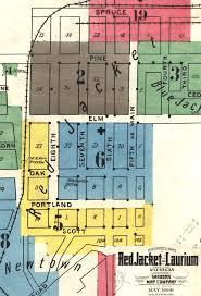 map of calumet michigan jacket 1913 windows into the past keweenaw national