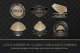 epic art deco bundle design resources by wing u0027s art