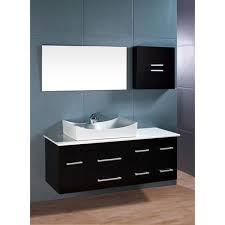 design element springfield contemporary wall mount bathroom vanity