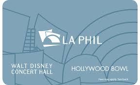 la phil gift cards la phil