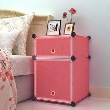 modern beside table plastic nightstand beside cupboard fashion