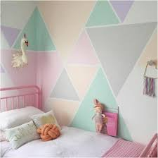 wandgestaltung farbe geometrische formen tolle wandgestaltung mit farbe archzine net