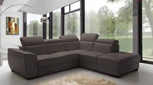 Sectionals With Sofa Beds Esf Freedom Contemporary Grey Fabric Sectional W Sofa Bed Right