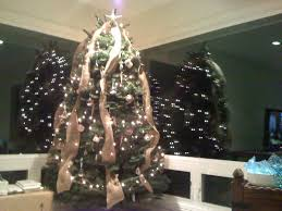 lovely how to hang ribbon on a christmas tree 57 on awesome room