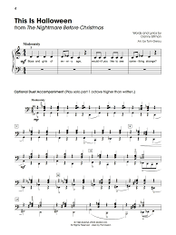 Halloween Fun Printables 5 Finger Halloween Fun Sheet Music Authority