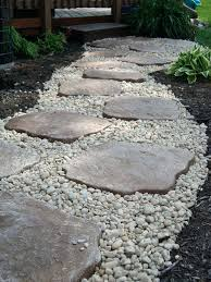 Front Door Patio Ideas Backyard Stepping Ideas Landscaping I Did Use Edging To