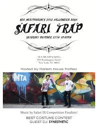 ra safari trap harlem house trotters halloween party u0026 dj