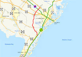 Atlantic City Map New Jersey Route 50 Wikipedia