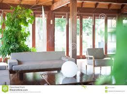 bright living room with big windows stock photo image 61714497