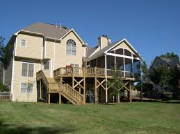 home design second story covered deck ideas shabbychic style