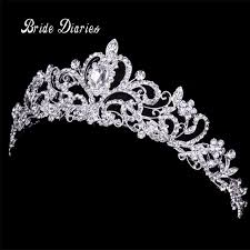wedding tiara aliexpress buy tiaras and crowns wedding hair accessories