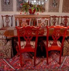 Dining Table And Chairs From Hickory Chairs Mt Vernon - Mount vernon dining room
