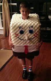 Spongebob Halloween Costume Toddler Original Homemade Spongebob Squarepants Halloween Costume