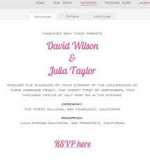 marriage invitation websites wedding websites create customize your wedding website wedbuddy