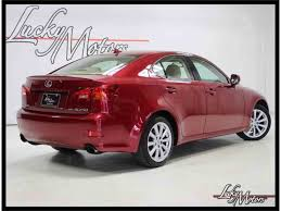 red lexus 2008 2008 lexus is250 for sale classiccars com cc 1049758