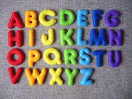 name letter pattern alphabet magnet madness felting magnets and craft