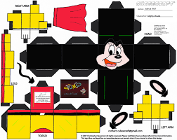 paper toy minnie mouse added theme mickey u0027s toontown pinterest