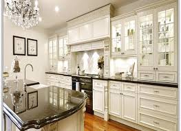End Kitchen Cabinet With Fluorescent Lighting Underneath High End - High end kitchen cabinet