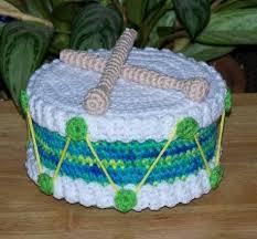 drum knitting pattern little drum treasure cake pdf crocheting pinterest drums and