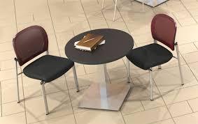 Stainless Steel Bistro Table Mayline Ca42rls 42