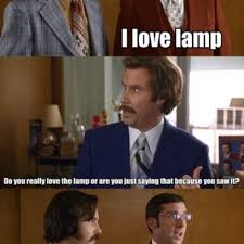 steve carell i love l quote scene in anchorman the legend of ron