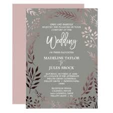 formal wedding invitation formal wedding invitations announcements zazzle