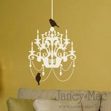 Chandelier Wall Decal Chandelier Vinyl Wall Decal Sticker Nature Design 39 00 Via