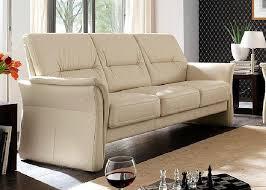 sofa 3 sitzer leder echt leder eldorado 3 sitzer creme elastoform eldorado ebay