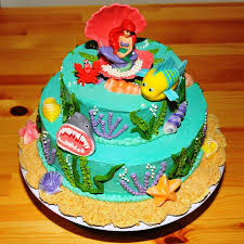 birthday cakes images wonderful little mermaid ariel birthday