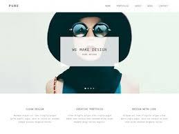 100 muse responsive templates simple portfolio free responsive