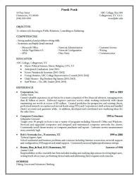 phenomenal effective resumes 5 sample of an template resume example