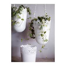 Hanging Indoor Planter by Pretty Hanging Lace Planters Garden Pinterest Planters