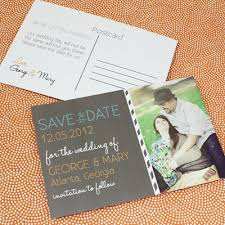 save the date postcard save the date postcard template with photo chalkboard type