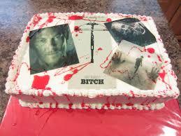 walking dead cake ideas j s cakes the walking dead birthday cake