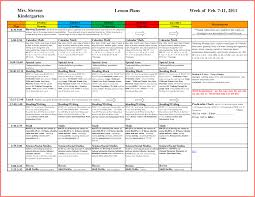 sle kindergarten lesson plan template 28 templates lovetoknow