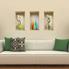 Modern Wall Stickers For Living Room Amazon Com The Nisha Art Magic 3d Vinyl Removable Wall Sticker