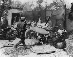 the escalating war in vietnam