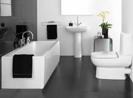 Black And White Bathroom Tile Design Ideas Bathroom Tiles Black And White Ideas