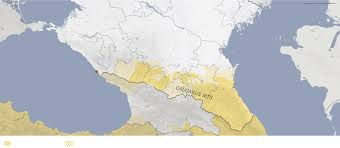 Caucasus Mountains On World Map by An Olympics In The Shadow Of A War Zone The New York Times