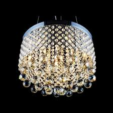 Crystal And Chrome Chandelier Criss Cross Chrome Finish Shade Warm Amber Crystal Globes