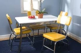 retro kitchen table and chairs set 50s diner table set rectangular retro kitchen table sets living with