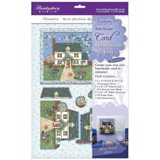 Design Your Own New Home Cards Hunkydory Home Sweet Home 6x6 Card Kit Crafts Forever