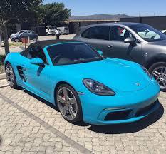 blue porsche boxster porsche 718 boxter porsche 718 boxter pinterest cars