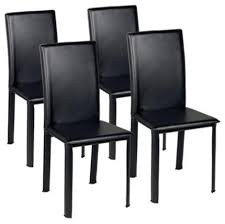 Contemporary Black Dining Chairs Chair Design Ideas Simple Dining Chairs Black Design Ideas