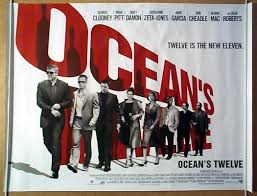 ocean u0027s 12 original cinema movie poster from pastposters com