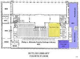 floorplan columbia university libraries