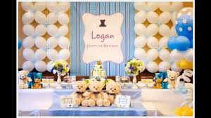 home party decoration 1st birthday party themes decorations at home for boys youtube