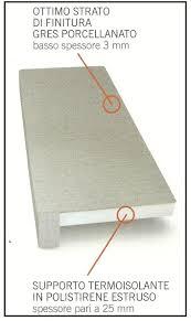 ponte termico davanzale un davanzale coibentato in gres porcellanato per cappotti termici