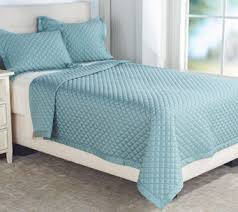Teal Coverlet Northern Nights U2014 Bedding And Towels U2014 Qvc Com