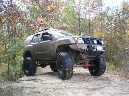 nissan xterra 2015 lifted nissan titan off road parts mileti industries testing